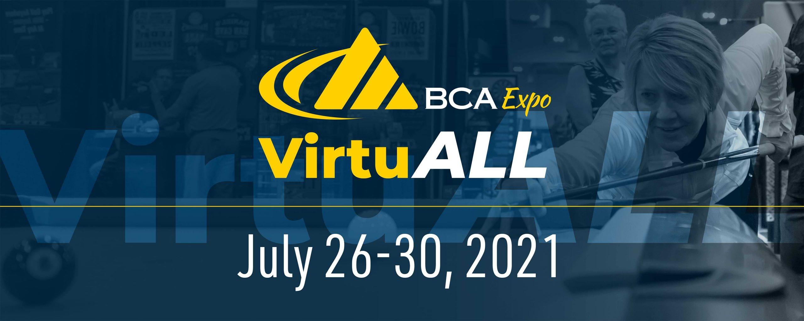 BCA VirtuALL July 26-40, 2021